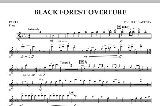 Black Forest Overture - Pt.1 - Flute (Concert Band: Flex-Band)