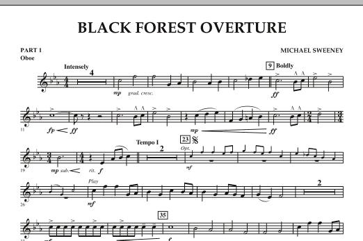 Black Forest Overture - Pt.1 - Oboe (Concert Band: Flex-Band)