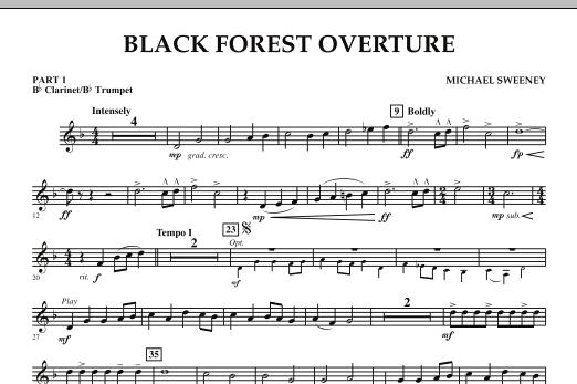 Black Forest Overture - Pt.1 - Bb Clarinet/Bb Trumpet (Concert Band: Flex-Band)