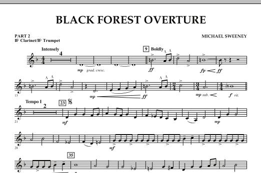 Black Forest Overture - Pt.2 - Bb Clarinet/Bb Trumpet (Concert Band)