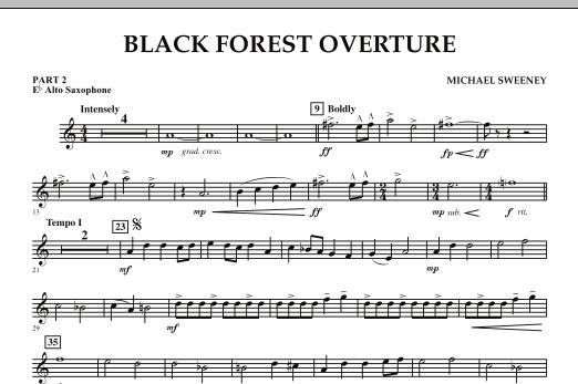 Black Forest Overture - Pt.2 - Eb Alto Saxophone (Concert Band: Flex-Band)