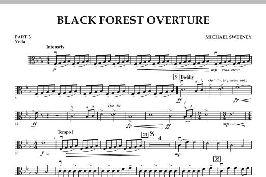 Black Forest Overture - Pt.3 - Viola (Concert Band: Flex-Band)