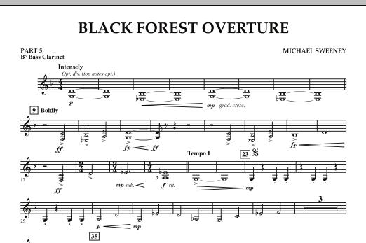 Black Forest Overture - Pt.5 - Bb Bass Clarinet (Concert Band: Flex-Band)