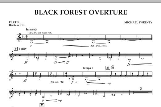 Black Forest Overture - Pt.5 - Baritone T.C. (Concert Band: Flex-Band)