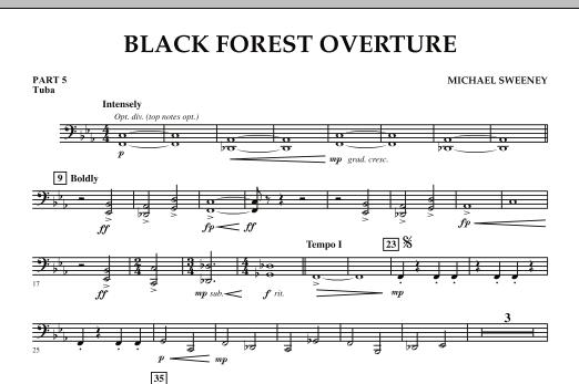 Black Forest Overture - Pt.5 - Tuba (Concert Band: Flex-Band)