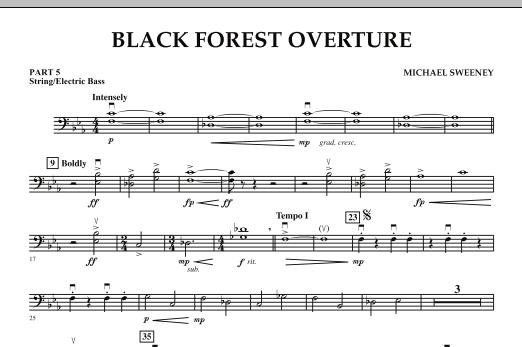 Black Forest Overture - Pt.5 - String/Electric Bass (Concert Band)