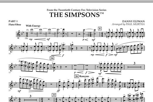The Simpsons - Pt.1 - Flute/Oboe (Flex-Band)