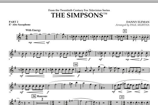 The Simpsons - Pt.2 - Eb Alto Saxophone (Flex-Band)