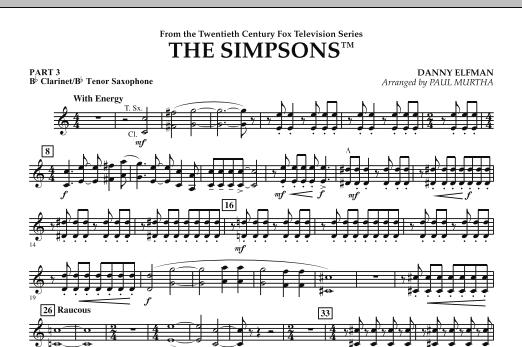 The Simpsons - Pt.3 - Bb Clarinet/Tenor Sax (Flex-Band)