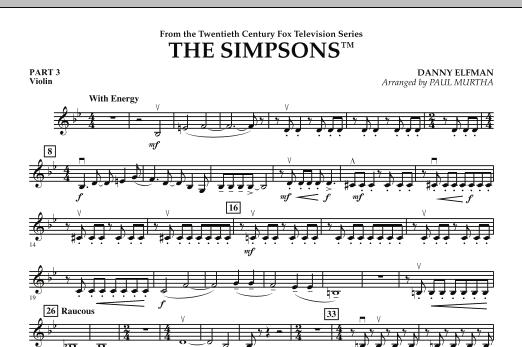 The Simpsons - Pt.3 - Violin (Flex-Band)