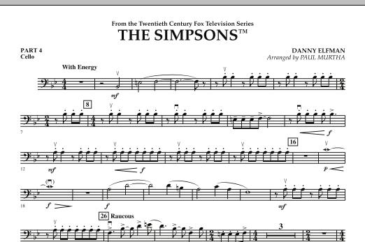 The Simpsons - Pt.4 - Cello (Flex-Band)
