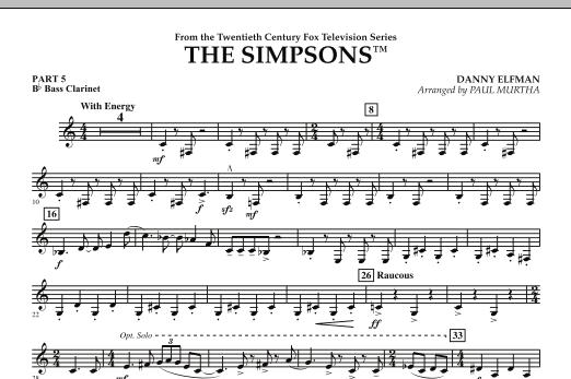 The Simpsons - Pt.5 - Bb Bass Clarinet (Flex-Band)
