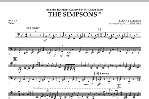 The Simpsons - Pt.5 - Tuba (Concert Band)