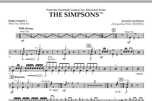 The Simpsons - Percussion 1 (Flex-Band)