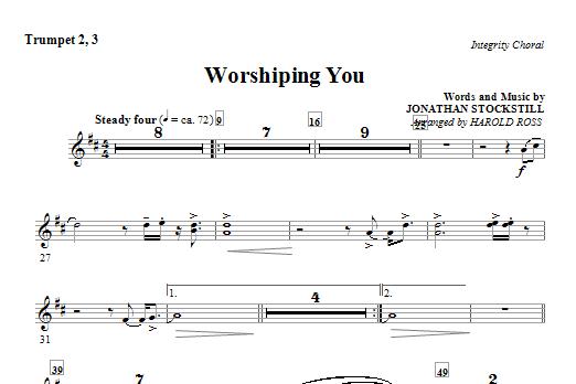 Worshiping You - Trumpet 2 & 3 (Choir Instrumental Pak)