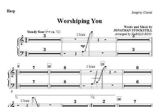 Worshiping You - Harp (Choir Instrumental Pak)