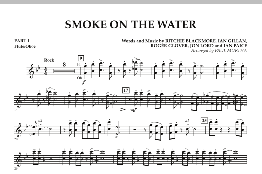 Smoke on the Water - Pt.1 - Flute/Oboe (Flex-Band)