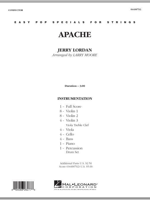 Apache - Full Score (Orchestra)