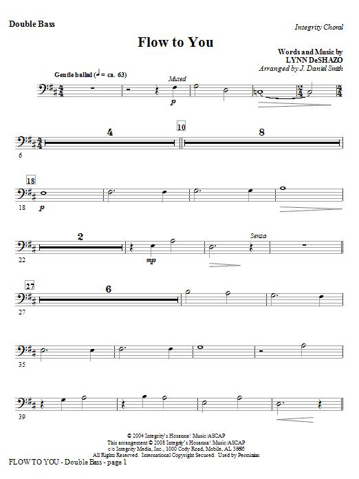 Flow To You - Alto Sax (Horn sub.) Sheet Music