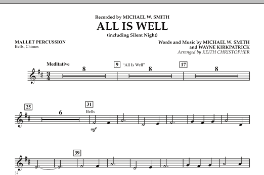 All Is Well (including Silent Night) - Mallet Percussion (Orchestra)