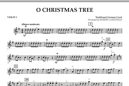 O Christmas Tree - Violin 1 (Orchestra)