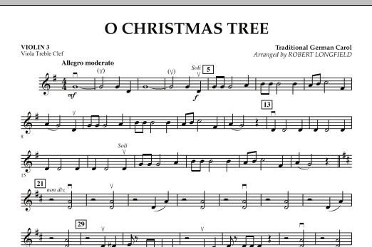 O Christmas Tree - Violin 3 (Viola Treble Clef) (Orchestra)