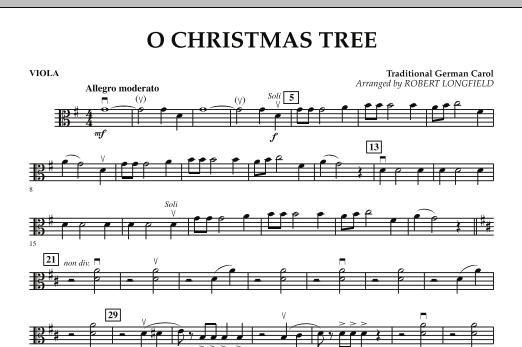 O Christmas Tree - Viola (Orchestra)