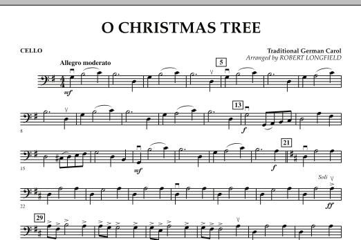 O Christmas Tree - Cello (Orchestra)