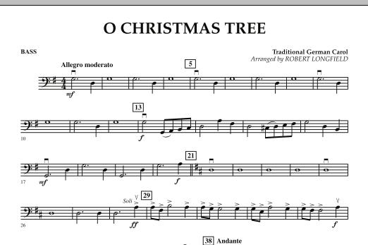 O Christmas Tree - Bass (Orchestra)