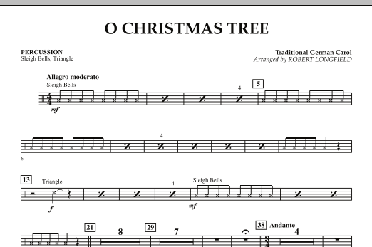 O Christmas Tree - Percussion (Orchestra)