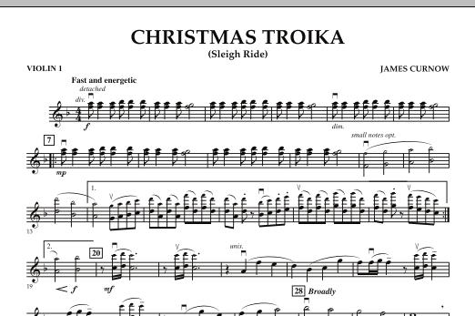 Christmas Troika - Violin 1 (Orchestra)