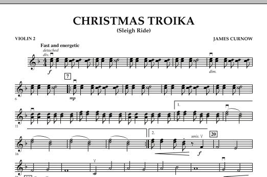 Christmas Troika - Violin 2 (Orchestra)