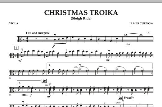 Christmas Troika - Viola (Orchestra)