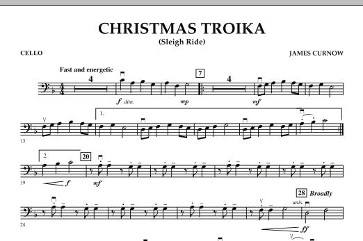 Christmas Troika - Cello (Orchestra)