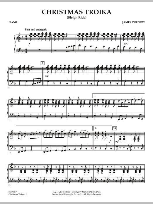 Christmas Troika - Piano (Orchestra)