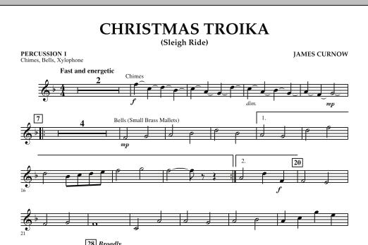 Christmas Troika - Percussion 1 (Orchestra)