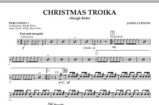 Christmas Troika - Percussion 2 (Orchestra)