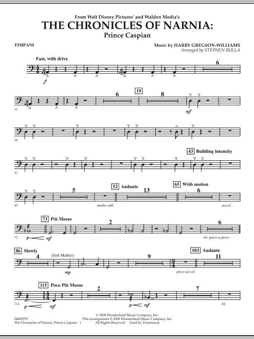 The Chronicles of Narnia: Prince Caspian - Timpani (Full Orchestra)
