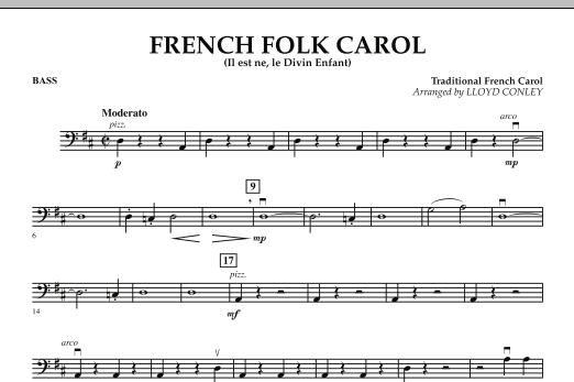 French Folk Carol - String Bass (Orchestra)