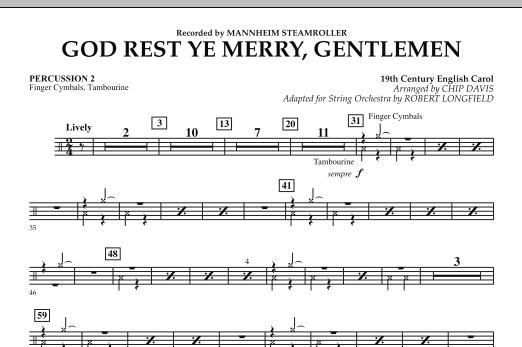 God Rest Ye Merry, Gentlemen - Percussion 2 (Orchestra)