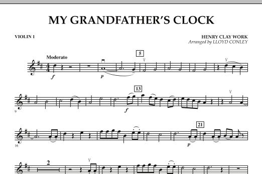 My Grandfather's Clock - Violin 1 (Orchestra)