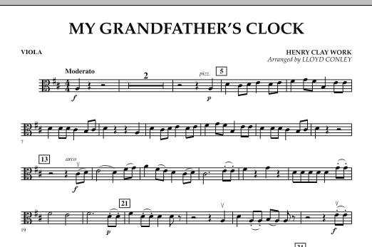 My Grandfather's Clock - Viola (Orchestra)
