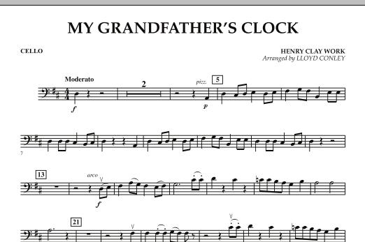 My Grandfather's Clock - Cello (Orchestra)