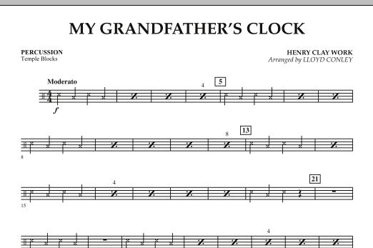 My Grandfather's Clock - Percussion (Orchestra)