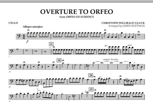 "Overture to ""Orfeo"" - Cello (Orchestra)"