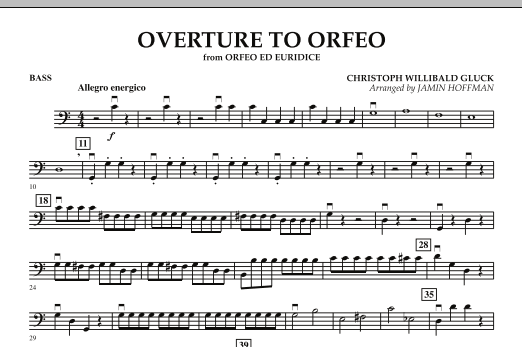 """Overture to """"Orfeo"""" - Bass (Orchestra)"""