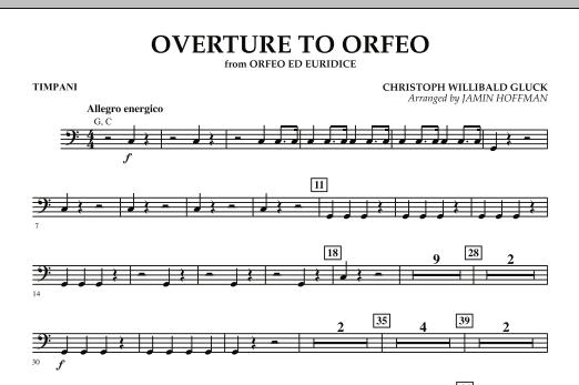 "Overture to ""Orfeo"" - Timpani (Orchestra)"