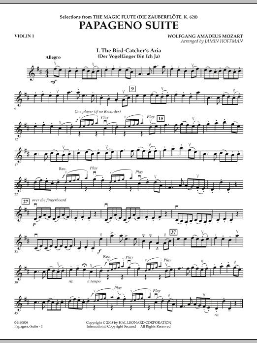 Papageno Suite - Violin 1 (Orchestra)