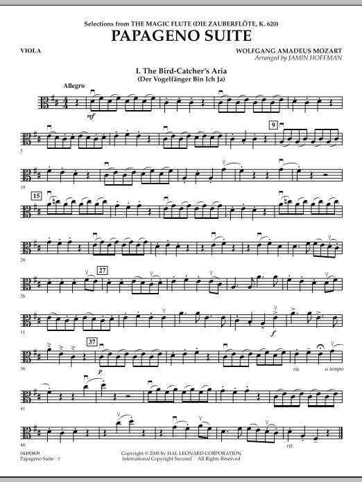Papageno Suite - Viola (Orchestra)