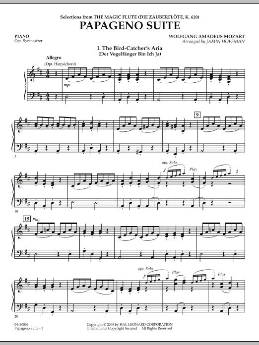 Papageno Suite - Piano (Orchestra)